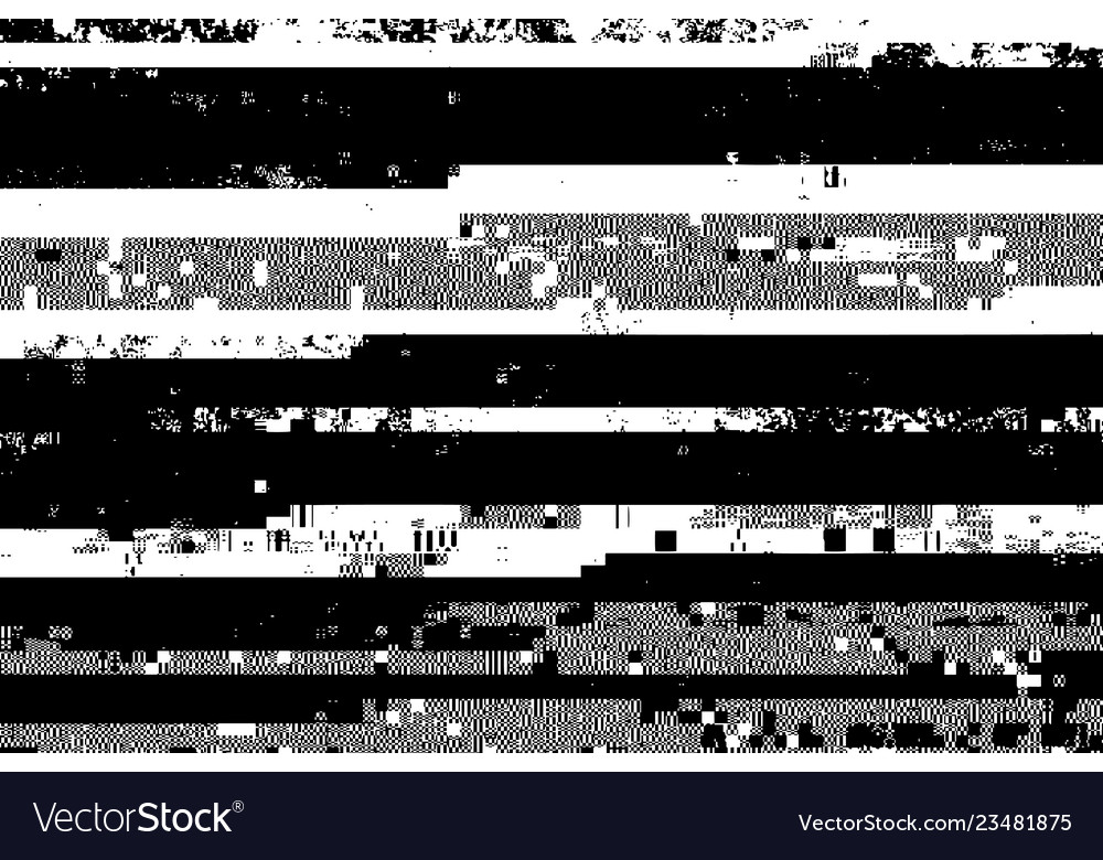 Glitched overlay background