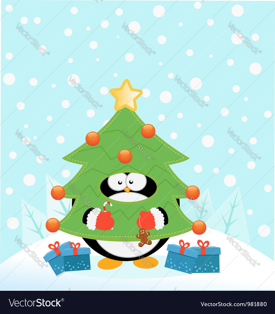 Tree Costume Penguin
