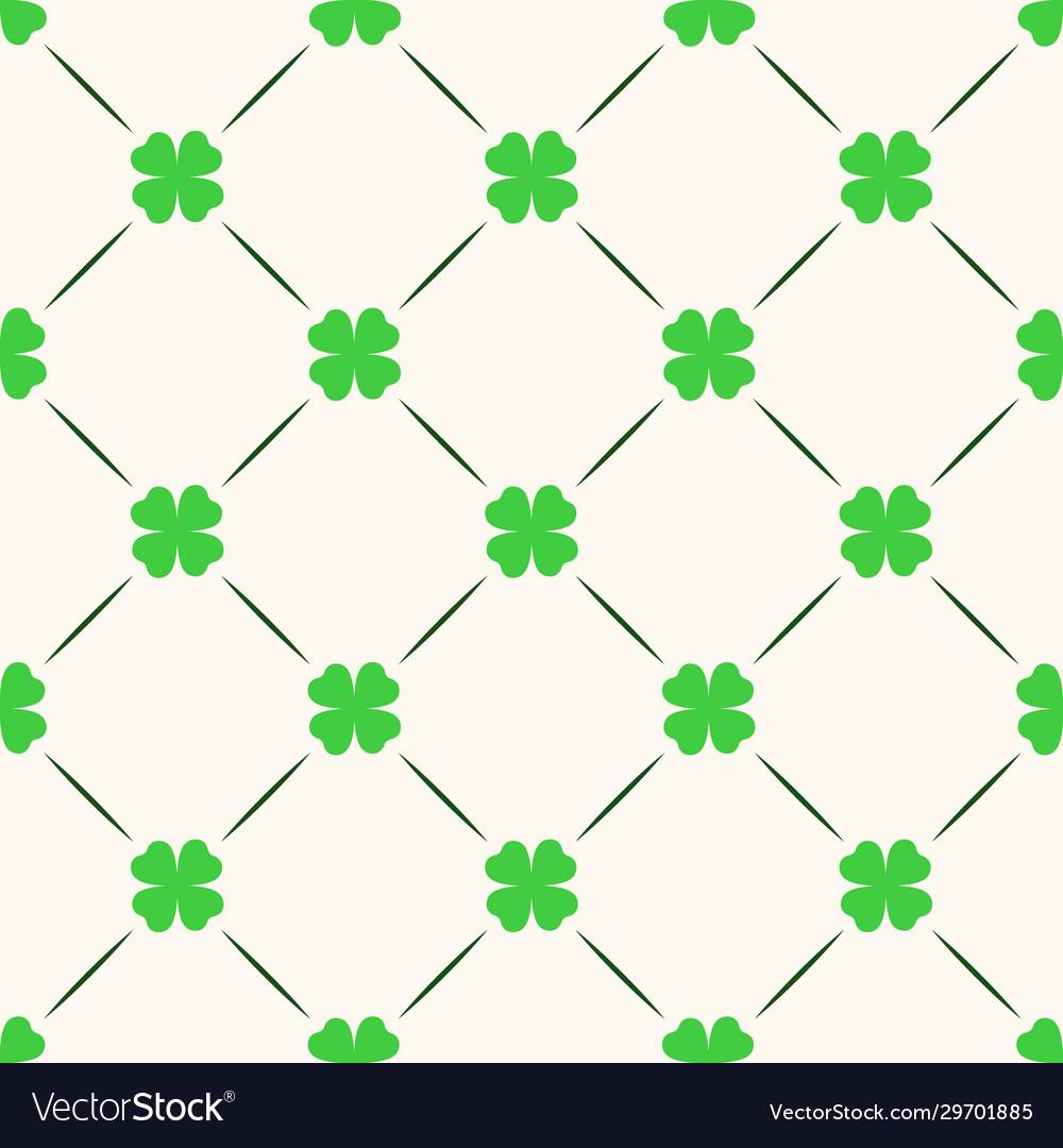 Saint patrick day seamless pattern