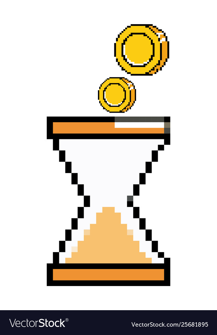 Isolated sand hourglass icon design