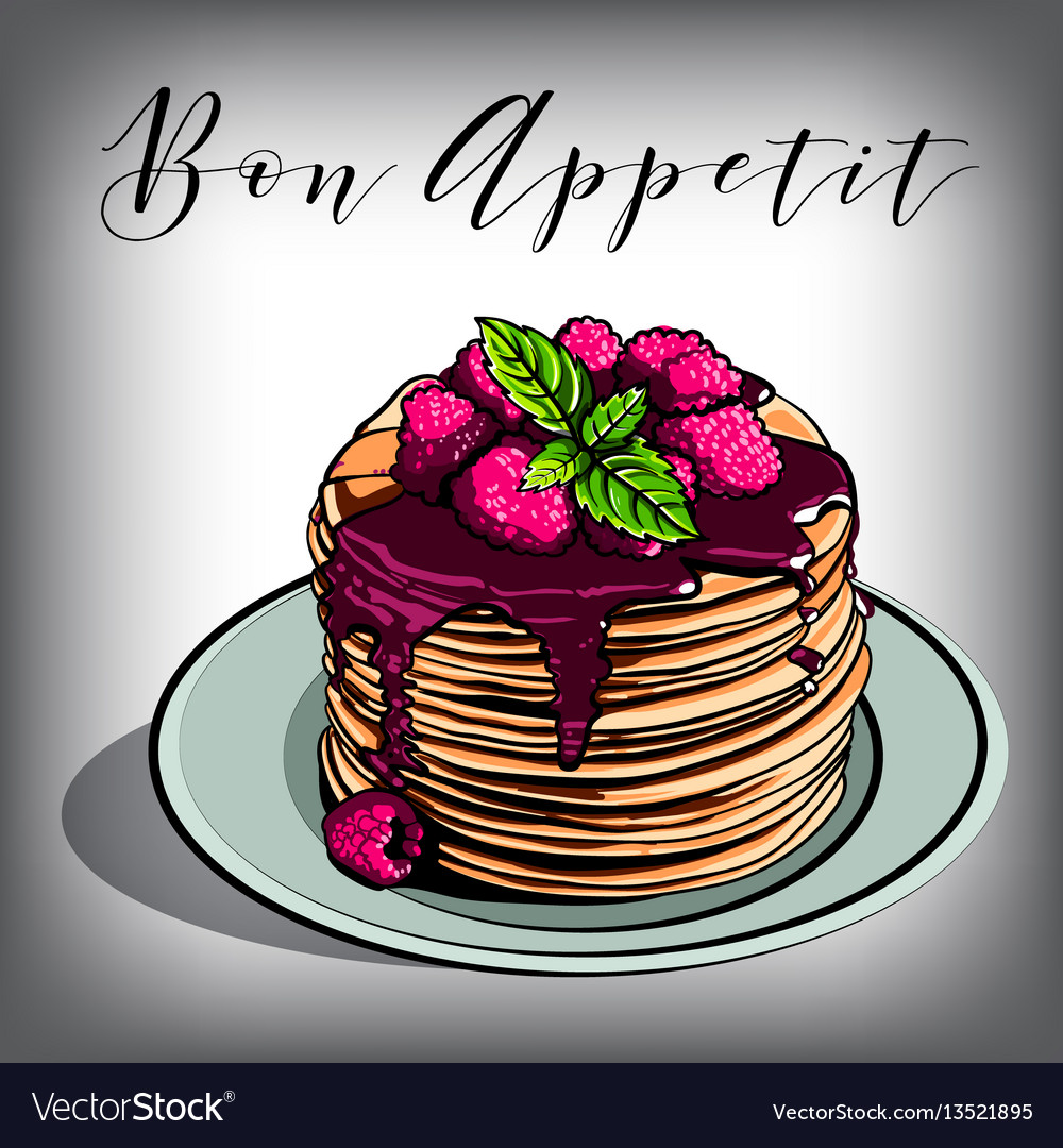Pancake breakfast cafes berries