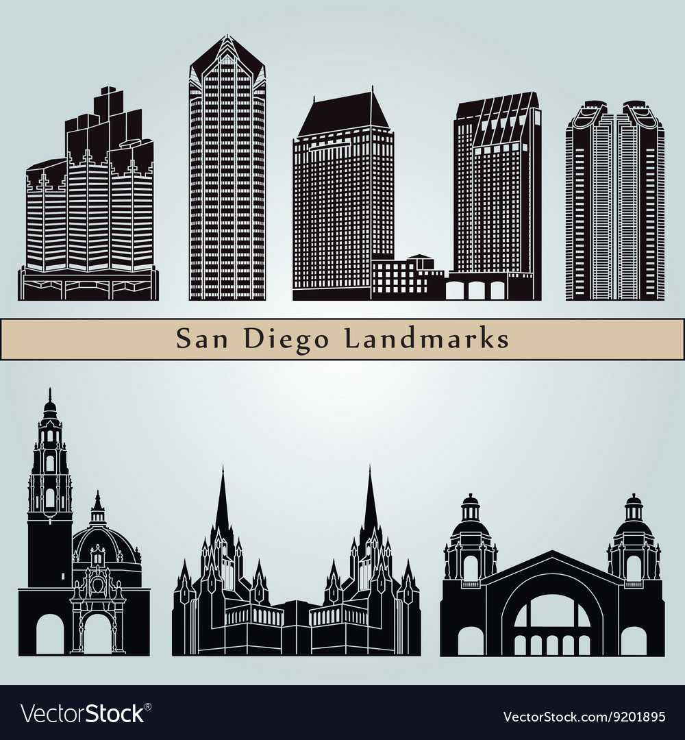 San Diego landmarks and monuments