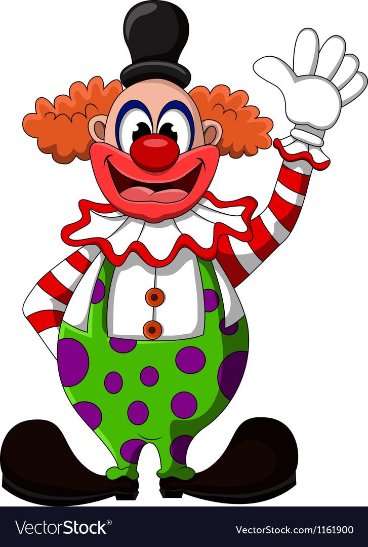Картинки мультяшные клоуна