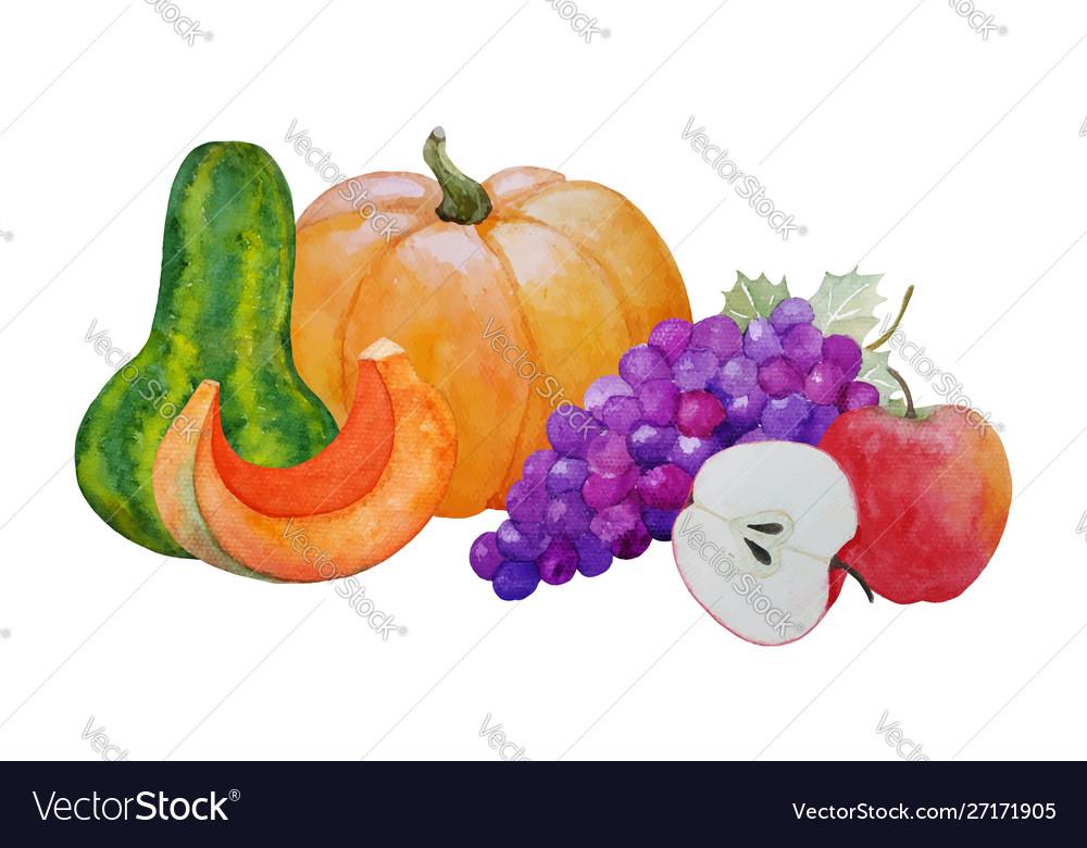 Autumn harvest composition