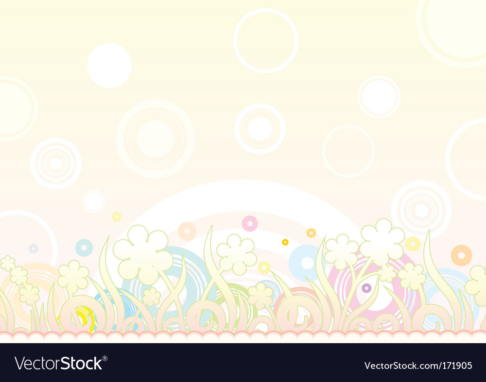 Soft background retro vector image