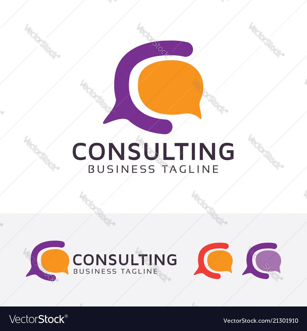 Consulting - letter c logo design