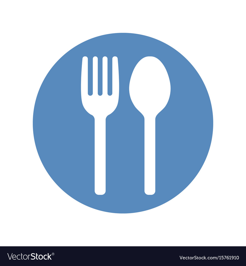 Black, Circle, Spoon, And & Fork Vector Images (46)