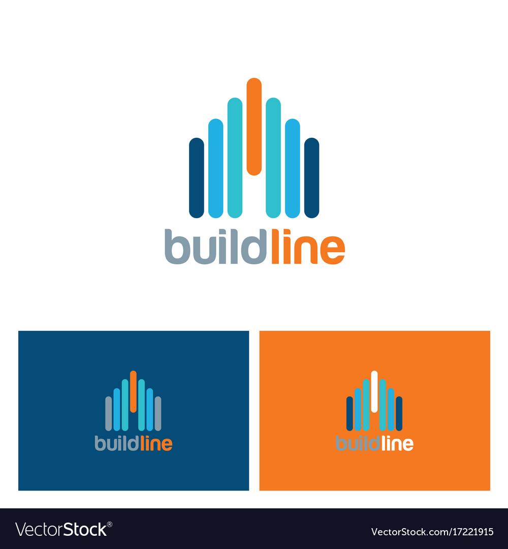 Building line color logo