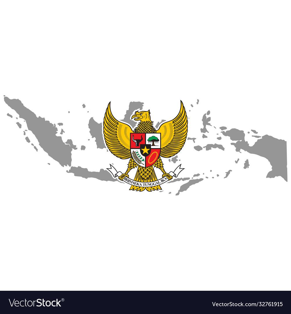 Garuda Pancasila Indonesia Vector Images 50