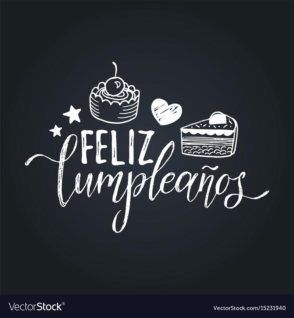 Feliz cumpleanos translated happy birthday
