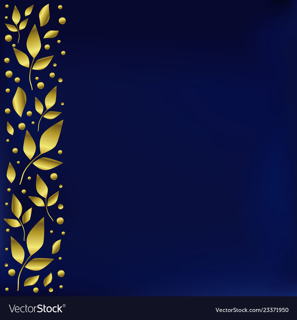 Blue Background Stylized As Velvet With Decorative