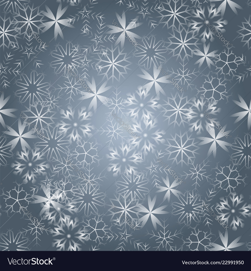 Bright snowflakes on a black background red