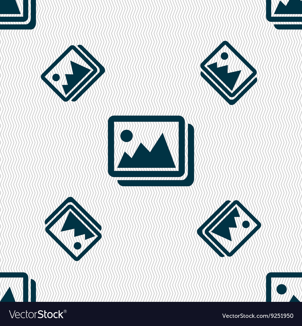 Images jpeg photograph icon sign Seamless pattern