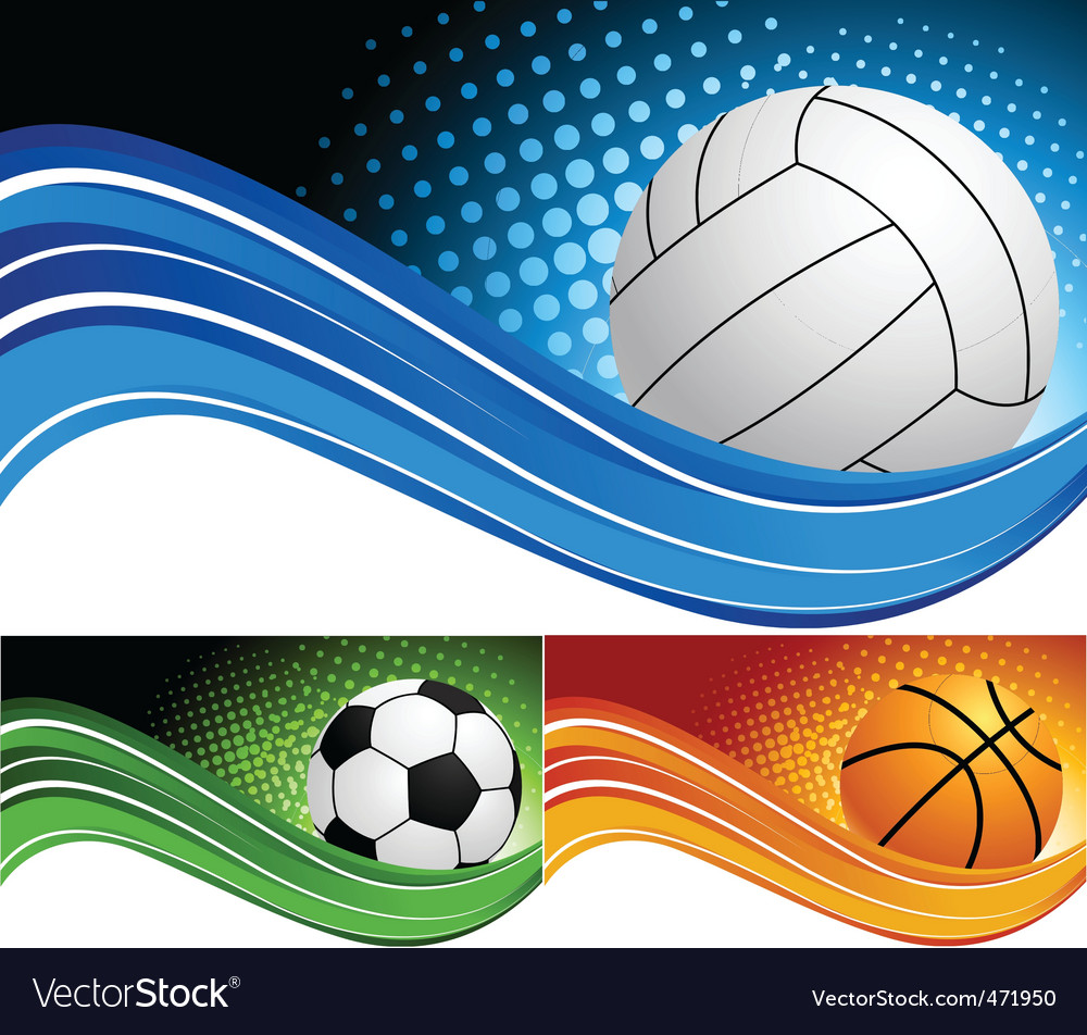 Sports Background Royalty Free Vector Image