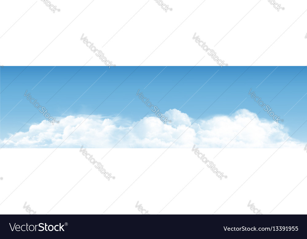 Blue sky with clouds panorama background
