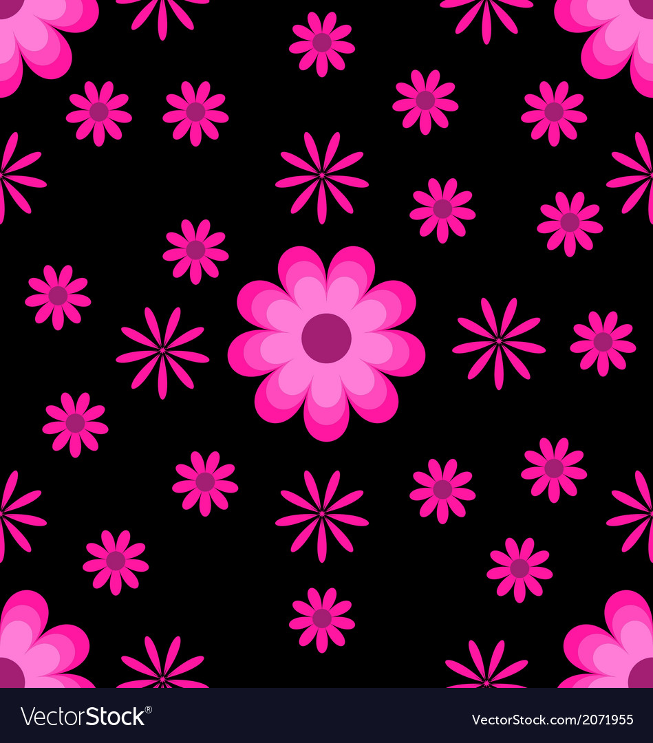 Pink black flowers image collections fresh lotus flowers many beautiful pink flowers on black background royalty free mightylinksfo