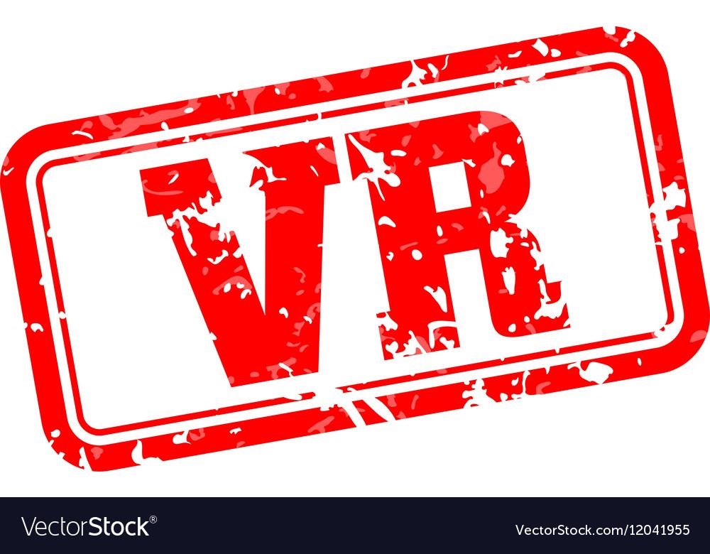 VR rubber stamp