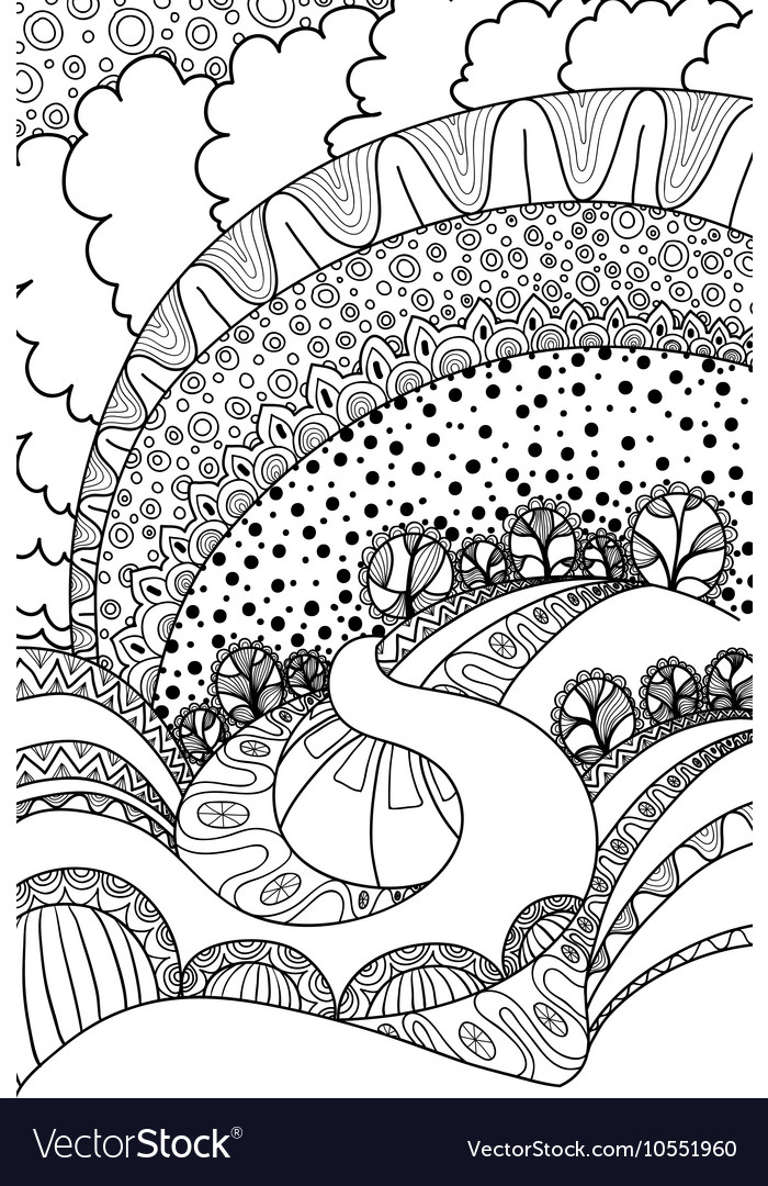 Coloring book adult