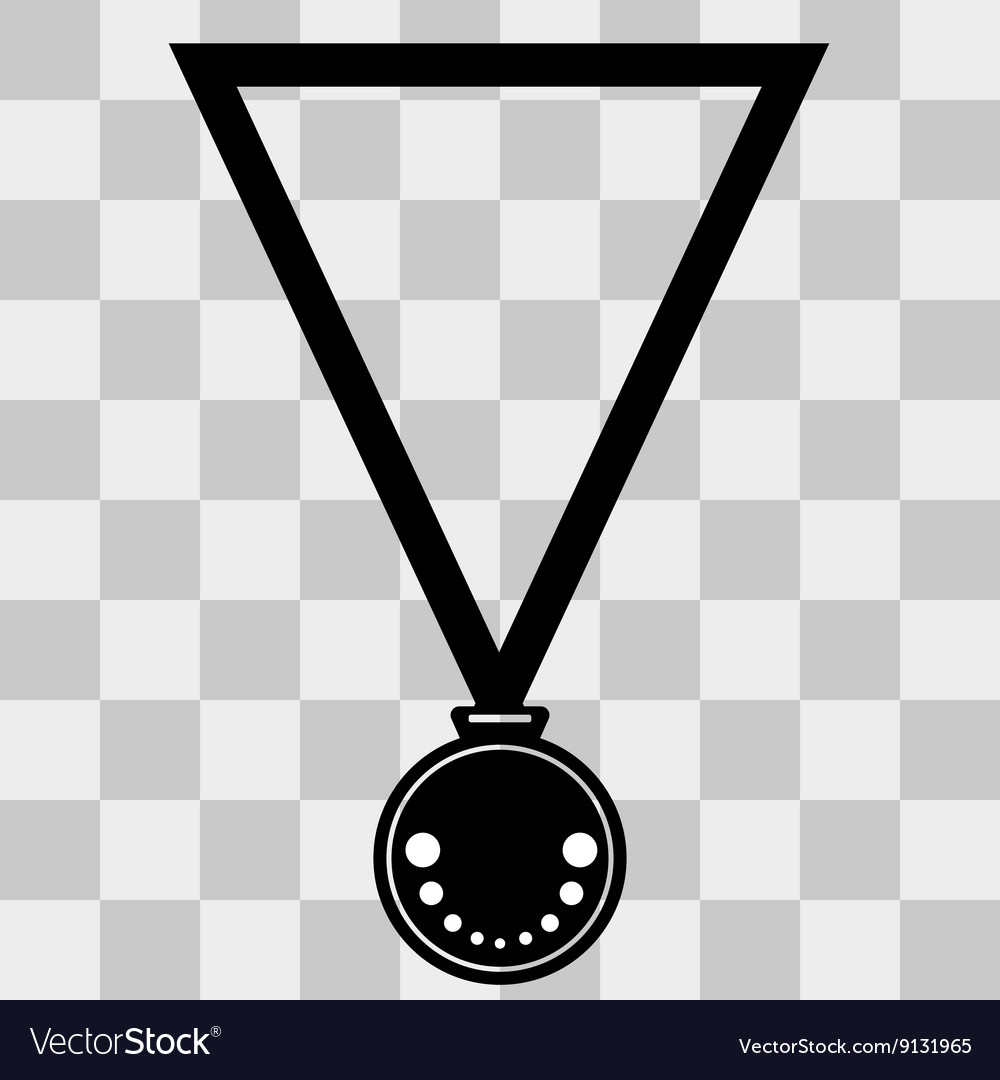 Medal Icon on transparent background