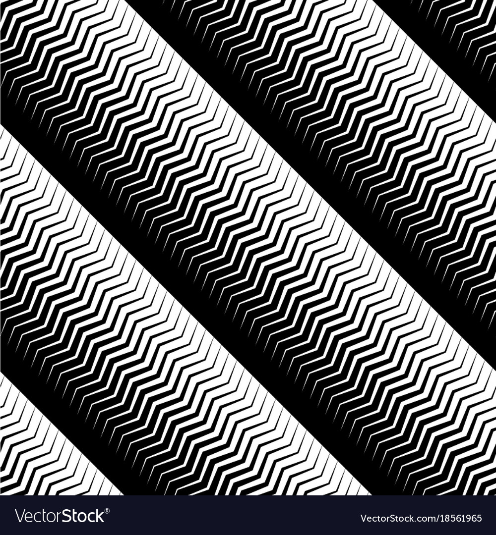 Universal linear geometric seamless pattern with vector image