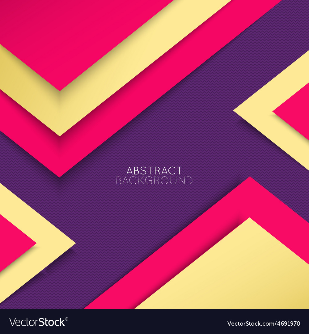 Abstract background Multicolored shapes shadow