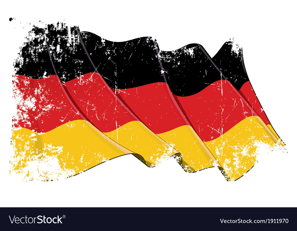 Germany national flag grunge