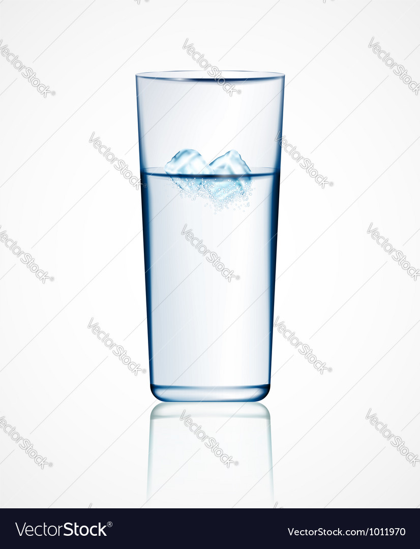Ice water