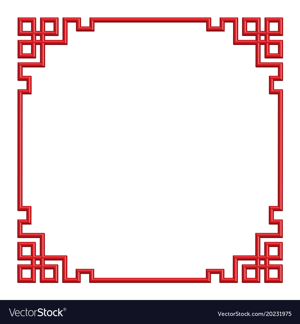 chinese border pattern vector free download