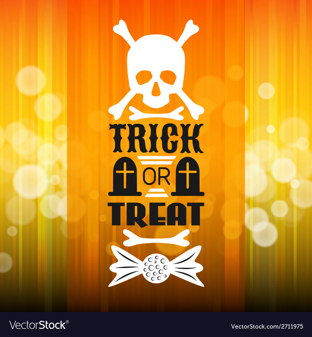 Halloween party poster Typography letters font