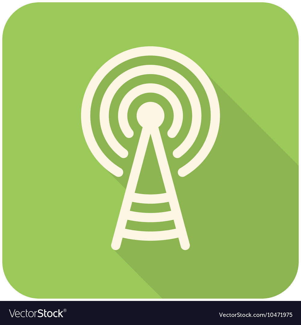 Transmitter tower icon