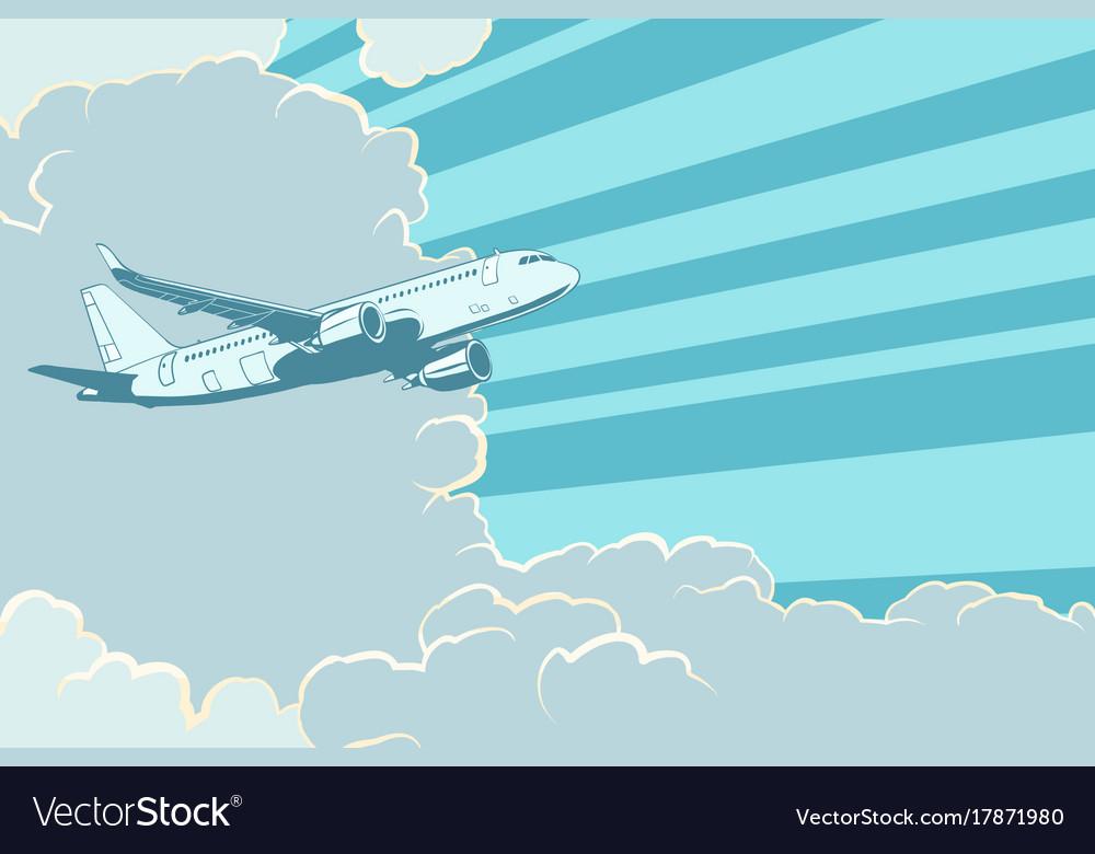 Картинки для детей самолеты летят сквозь облака, солнце класс