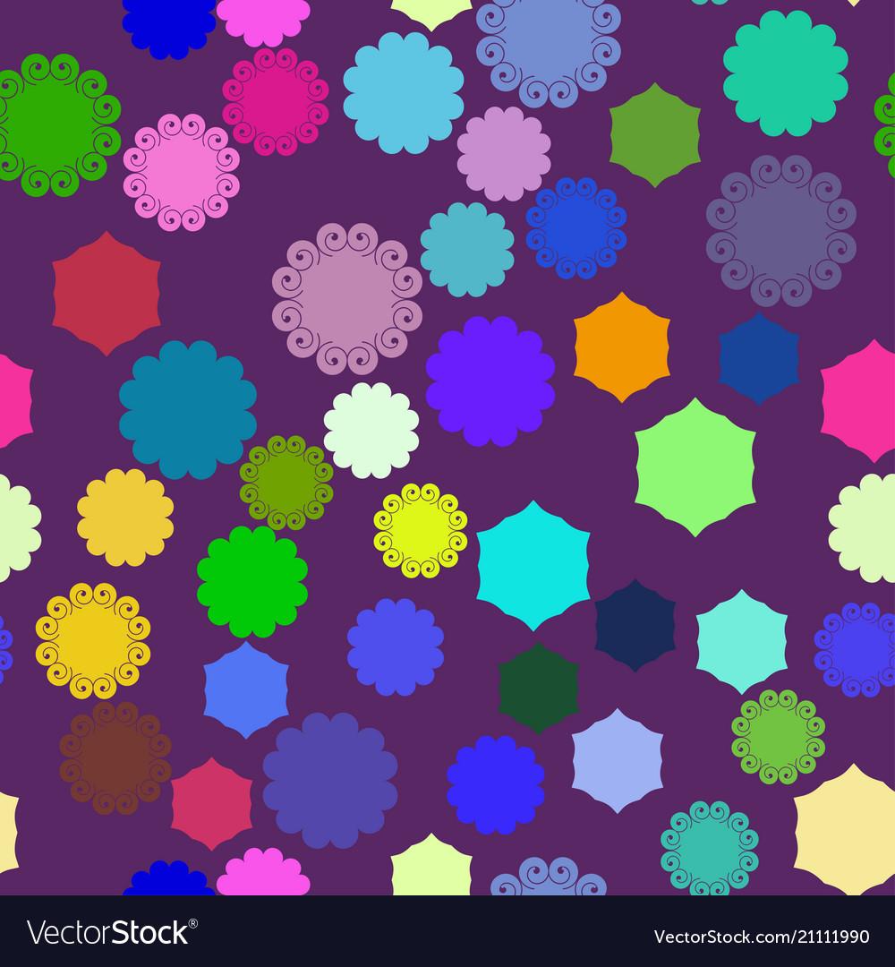 Abstraction on purple