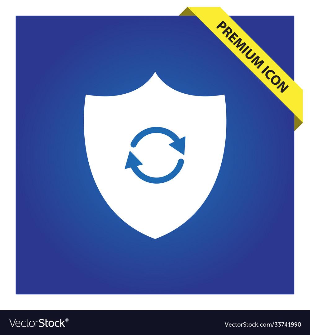Shield refresh icon