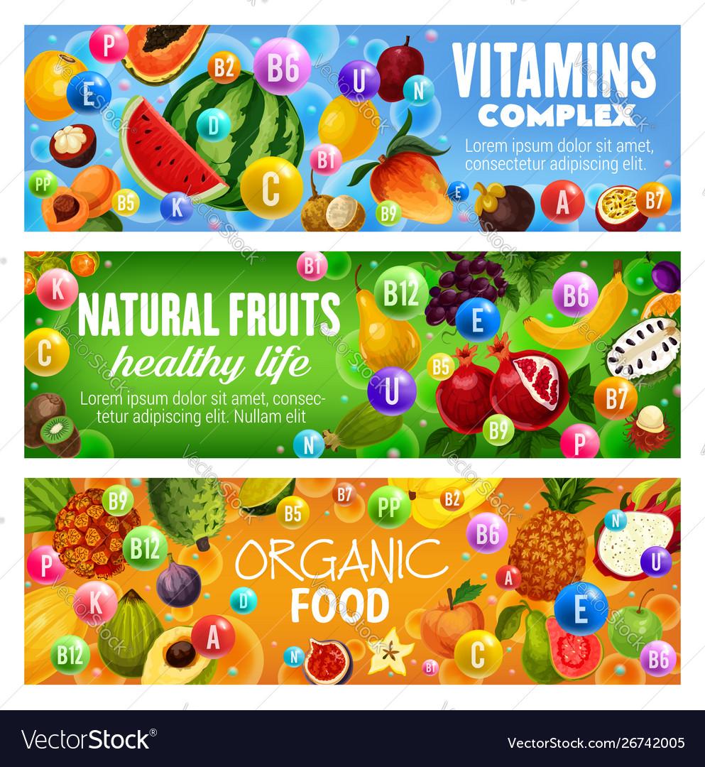 Natural fruit berriy vitamin complex health food