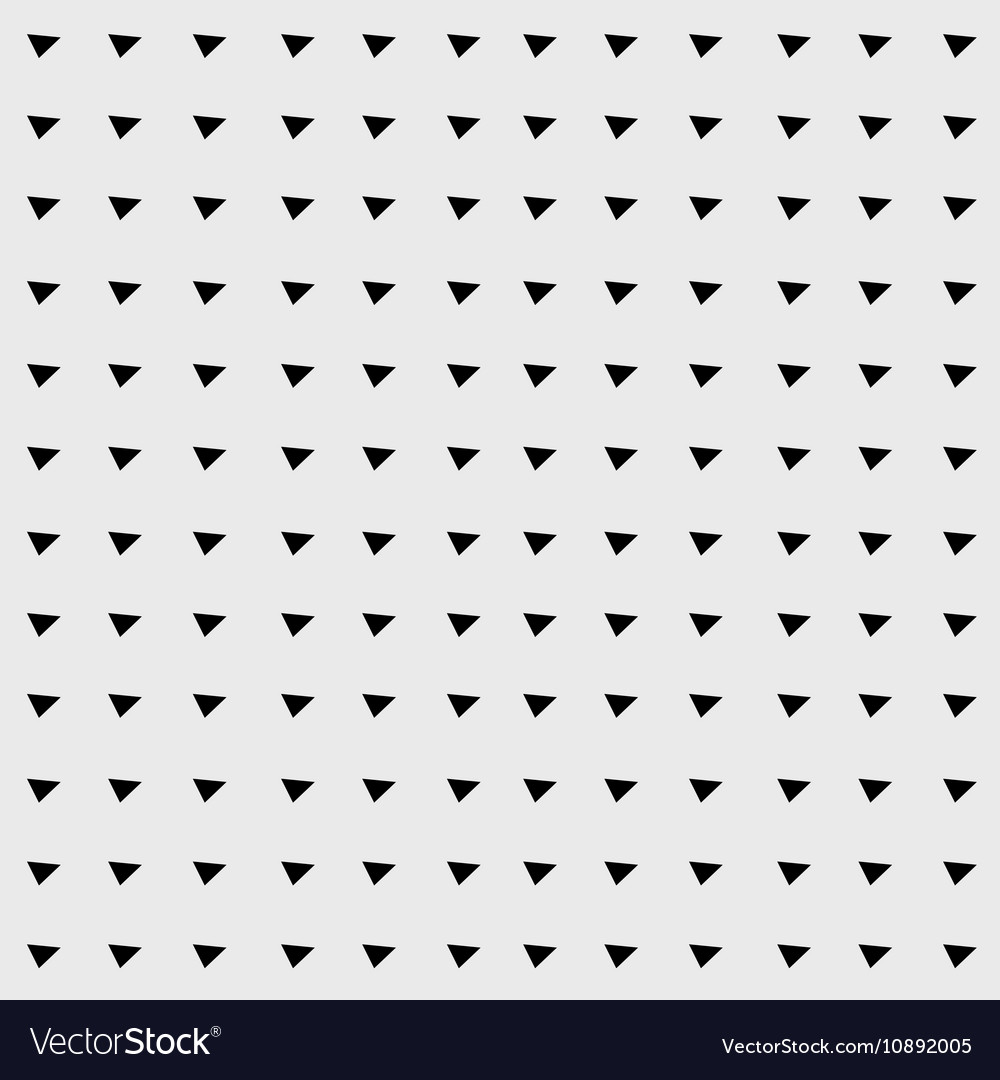 Pattern Minimalist Background Triangle Retro Vector Image