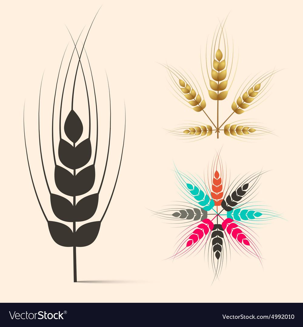 Ears of Wheat Set