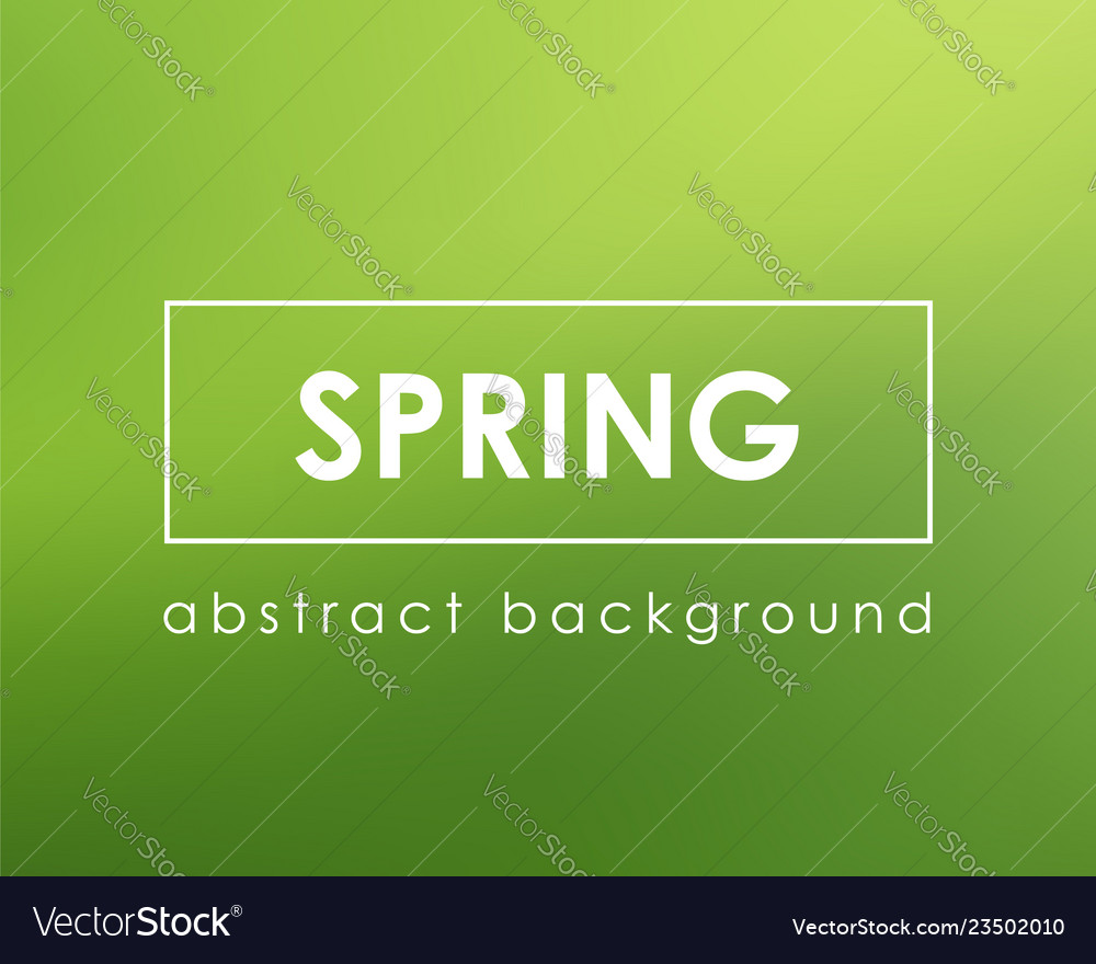 Green background blurred color nature spring