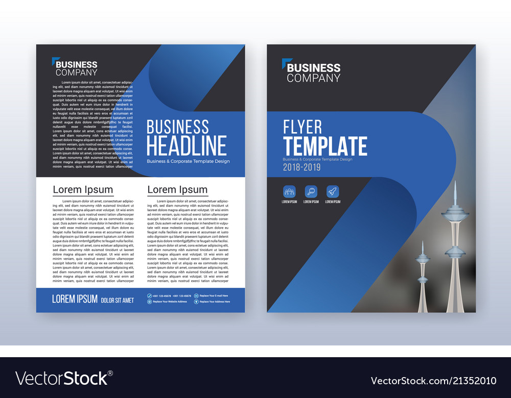 Modern business annual report template royalty free vector modern business annual report template vector image accmission Gallery