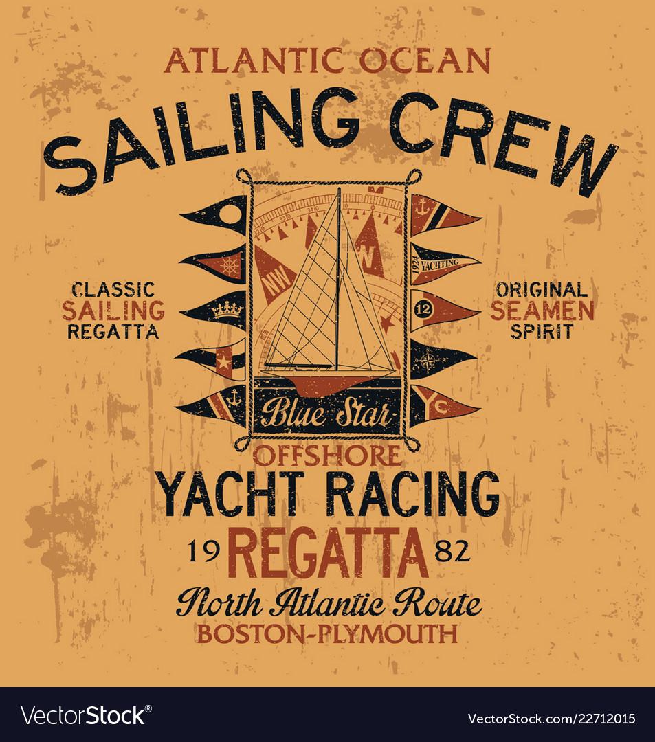 Atlantic ocean sailing crew yacht racing