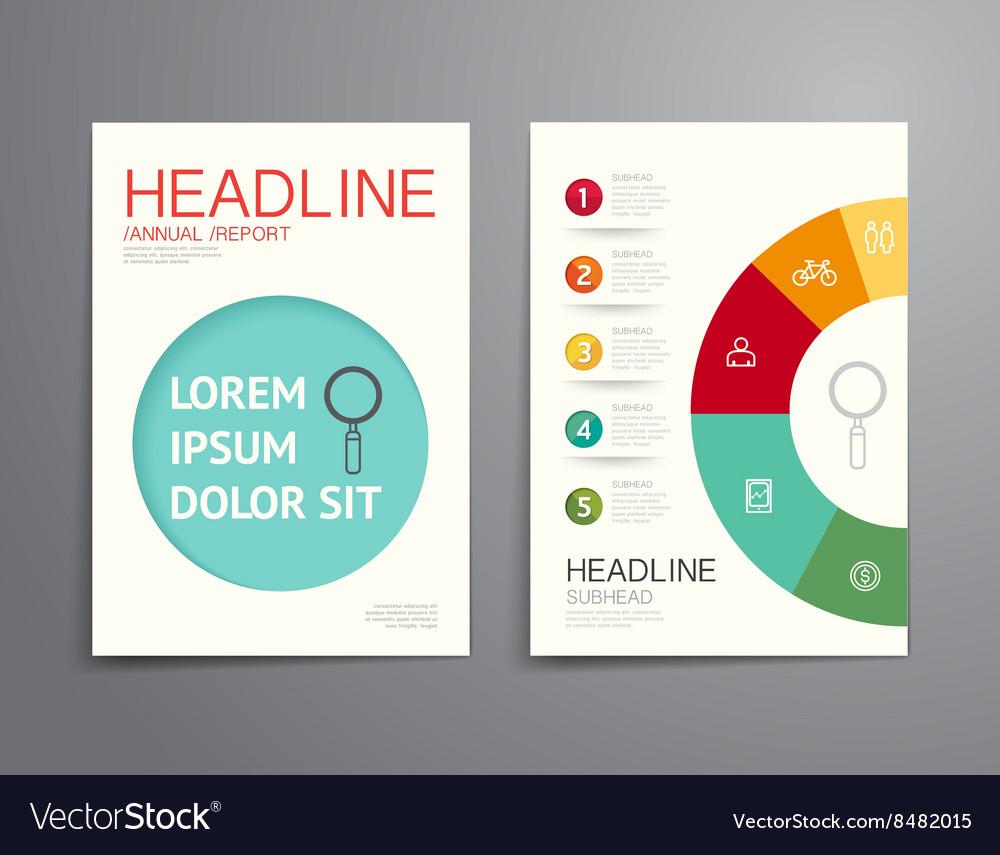Business brochure flyer magazine cover design