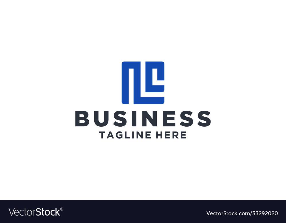 Le or ll square logo