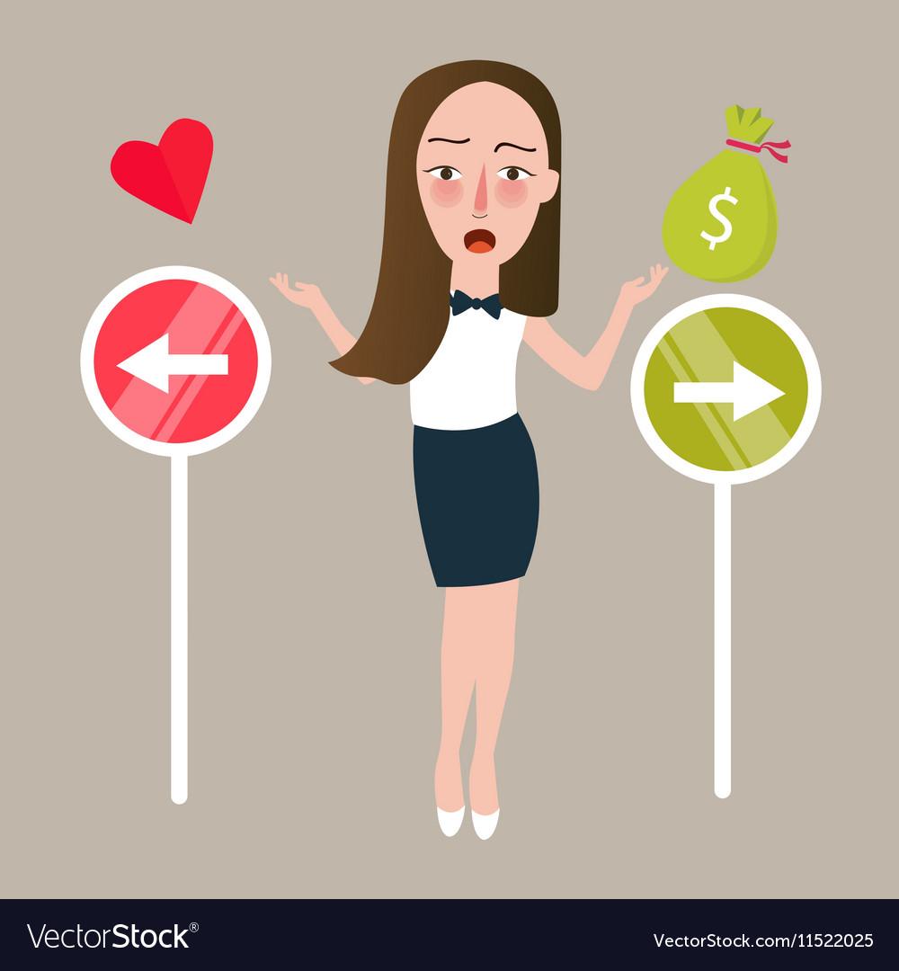 girl love money