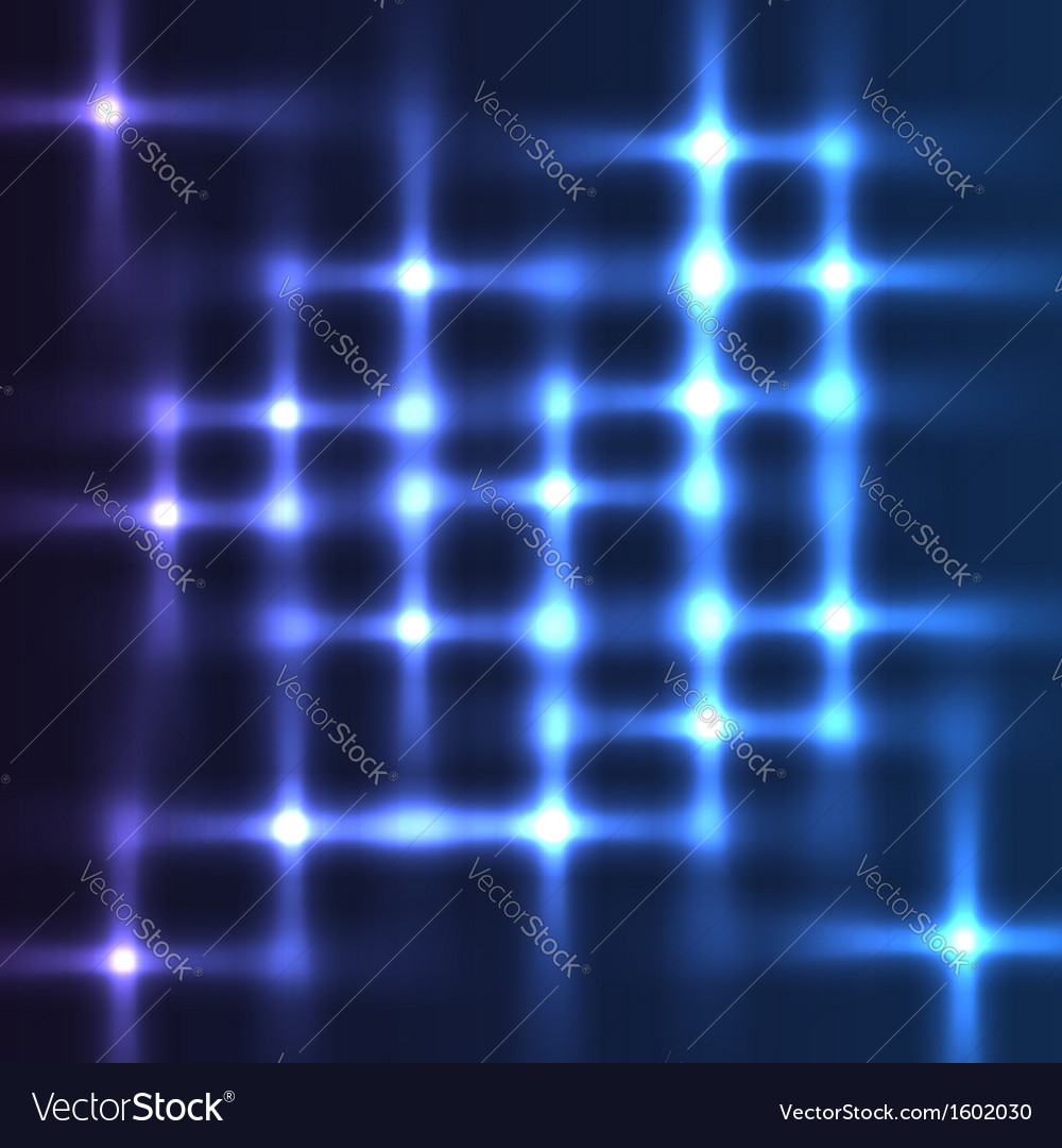 Disco lights shining background vector image