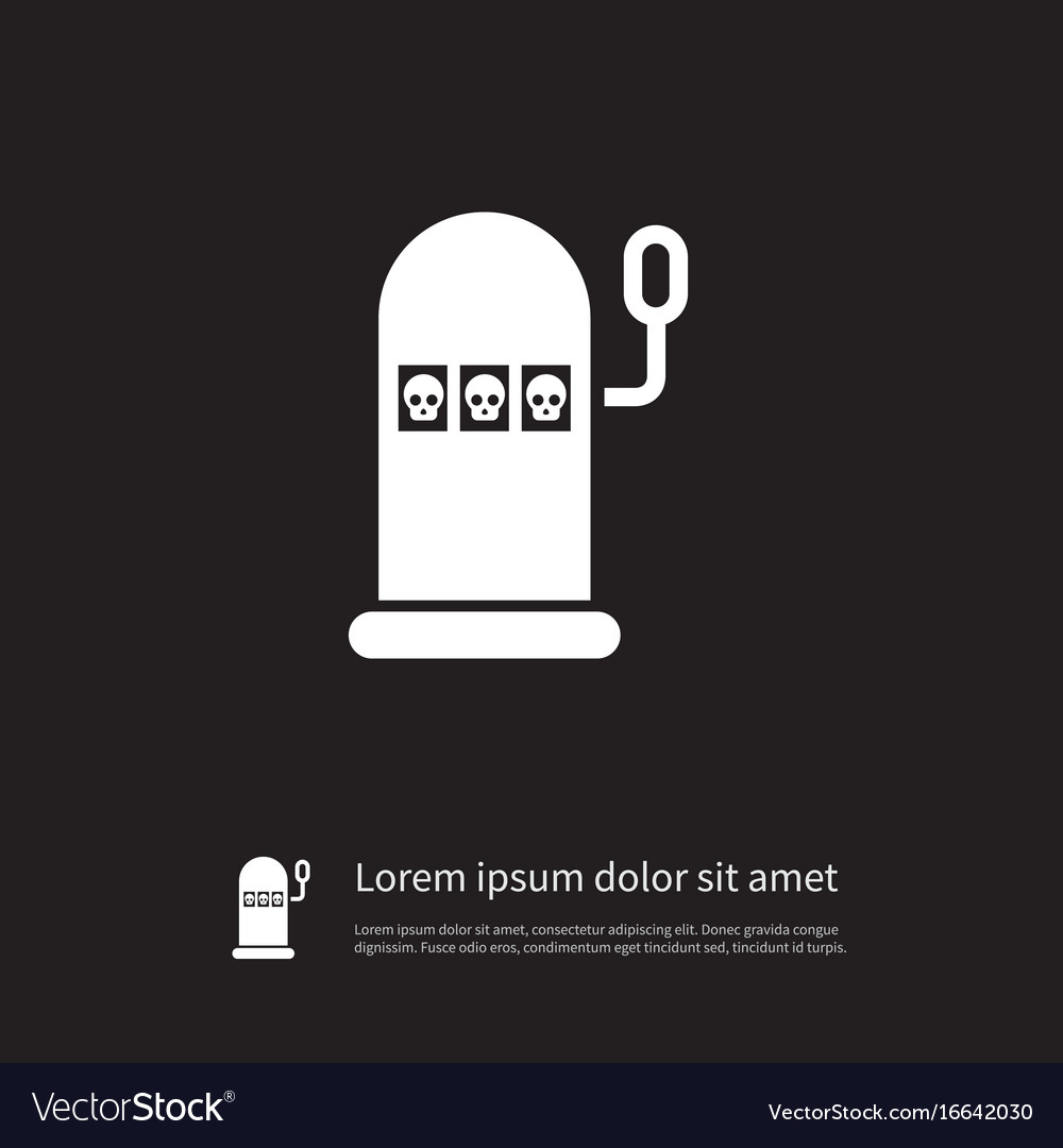 Isolated luck icon win element can be use vector image