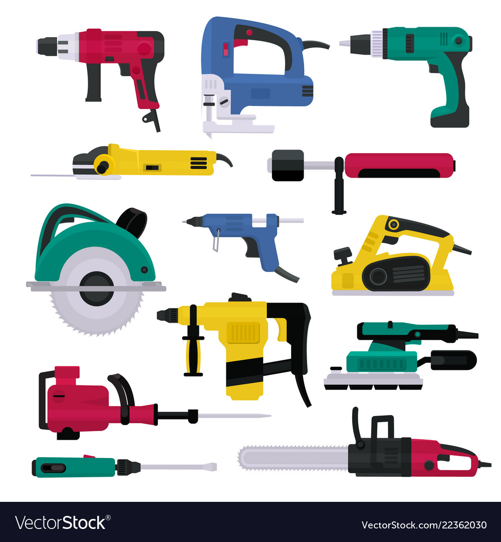 Power tools electrical drill and electric