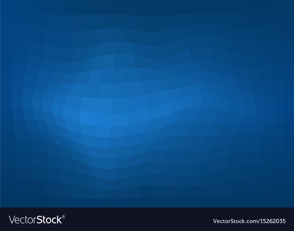 Abstract darkly blue background with square cells vector image