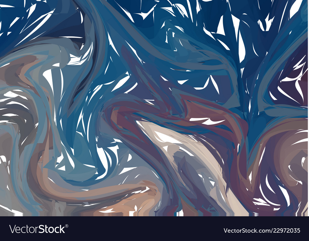 Bright abstract background with swirls and waves