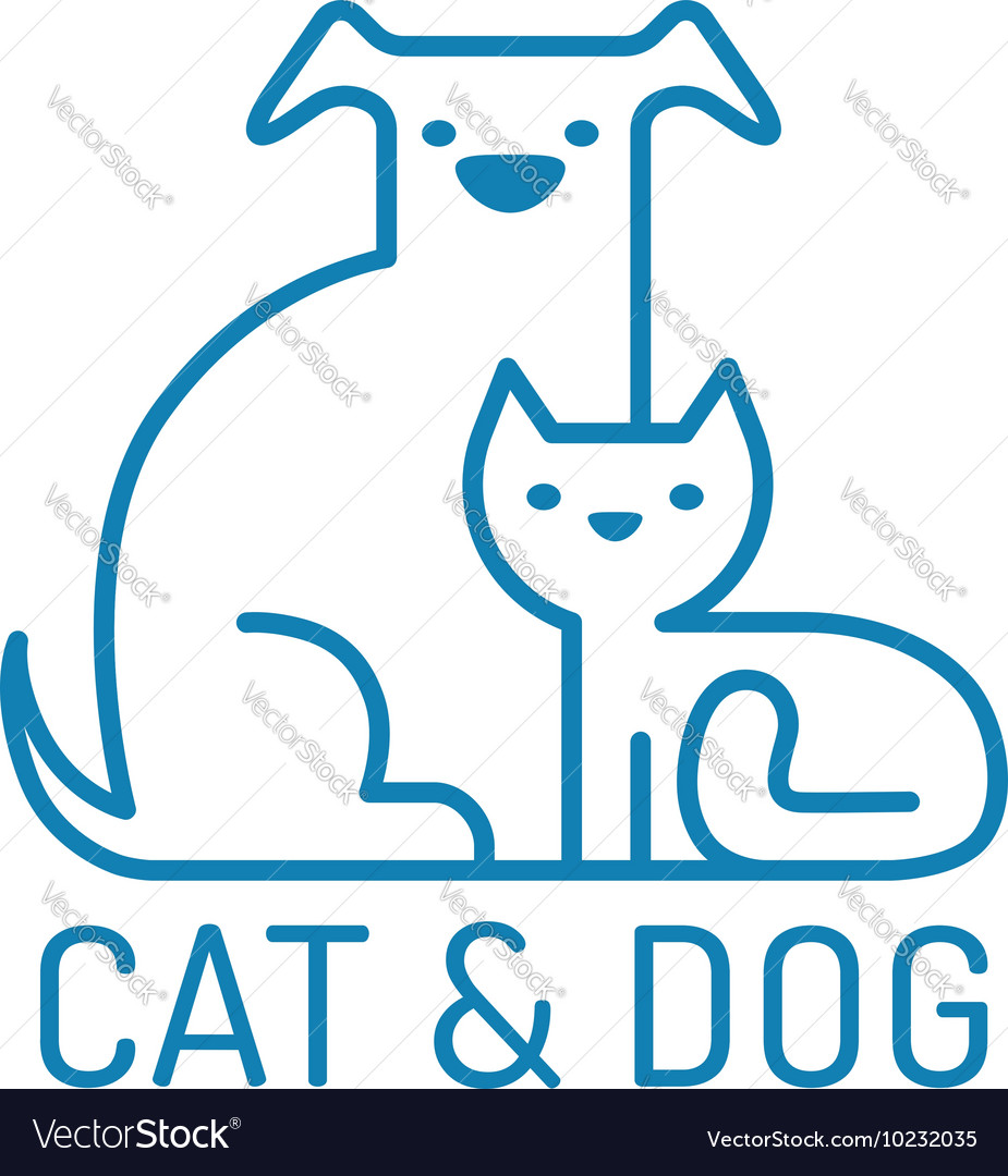 Cat dog flat