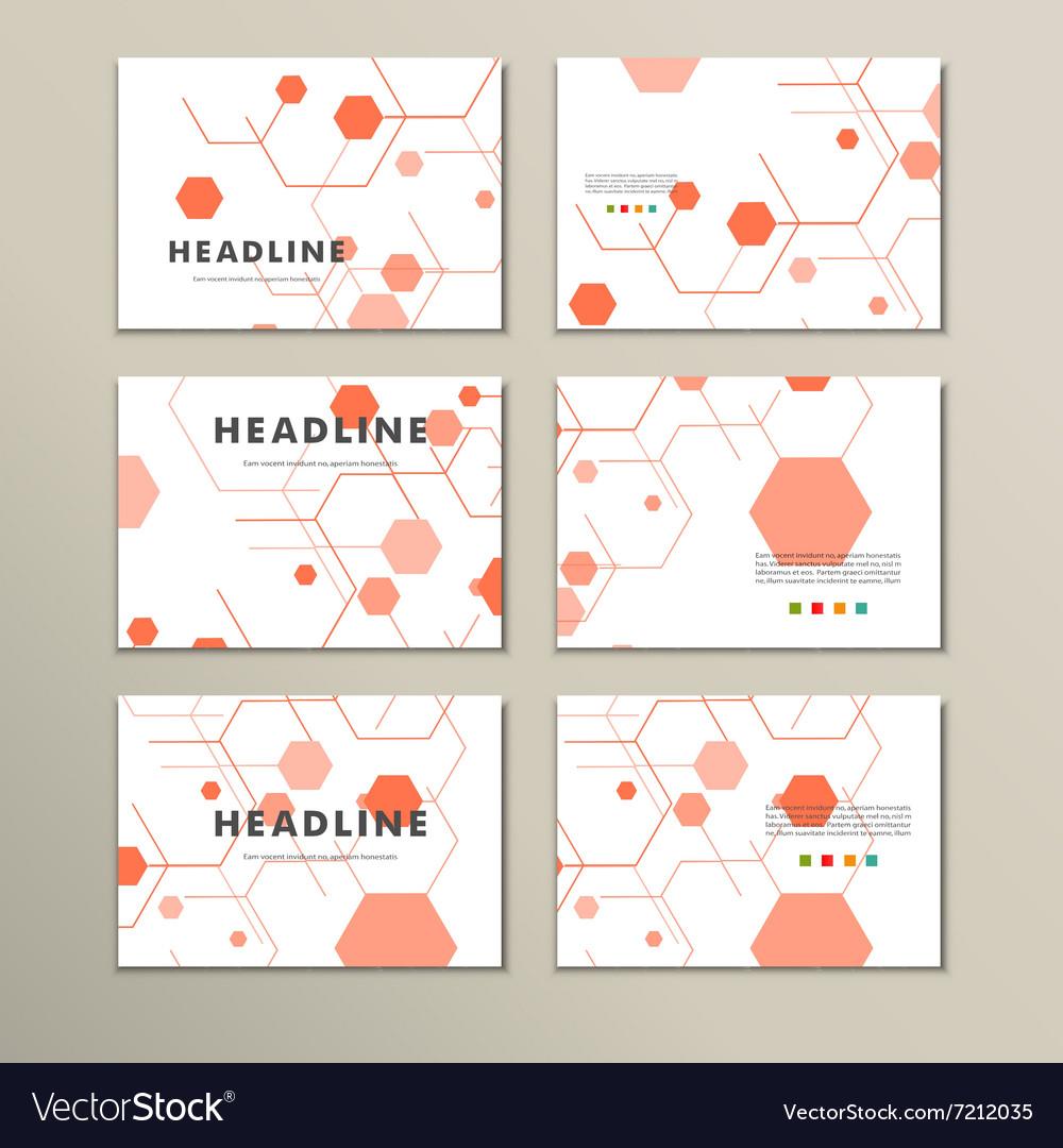 Modern Hexagon Design background