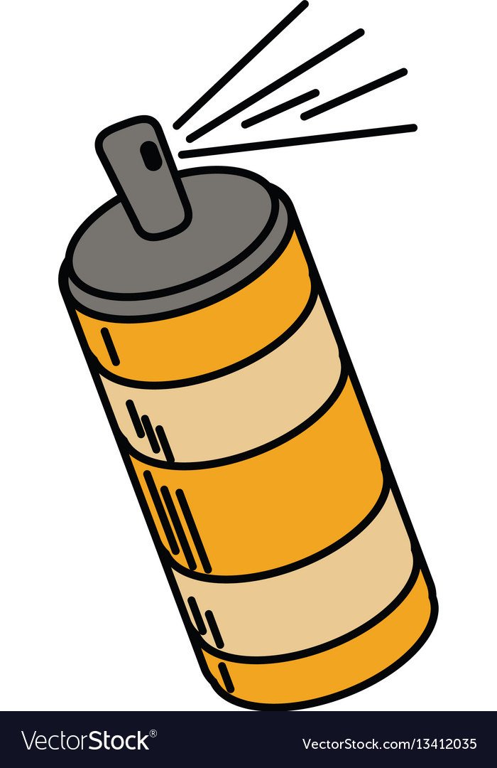 Spray can container icon